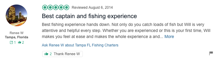 Fishing Charter Review